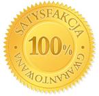 100% Satysfakcja Gwarantowana